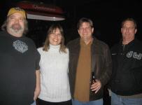 Marty Tompkins, Brett Walker and Jack Greenway